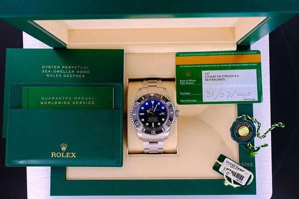 Rolex DEEPSEA Sea-Dweller D-Blue - 116660 by EBossHoss