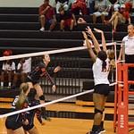 Warrior Volleyball vs Columbus 08-25-2014