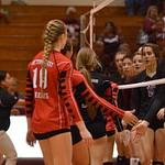 Warrior Volleyball vs Calallen 09-02-2014