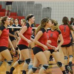 Warrior Volleyball vs East 09-26-2014