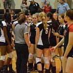 Warrior Volleyball vs Calallen 10-03-2014