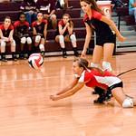 Warrior Volleyball vs TM 10-10-2014