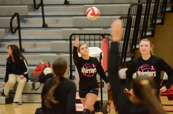 Warrior Volleyball vs Pioneer 11-06-2015 by...