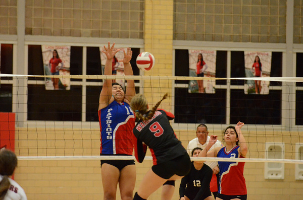 Warrior Volleyball vs Mission Veteran 11-03-2015 by...