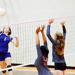 Warrior Volleyball vs Angelton 10-21-16