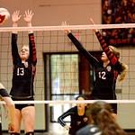 Warrior Volleyball vs Calhoun 10-25-16