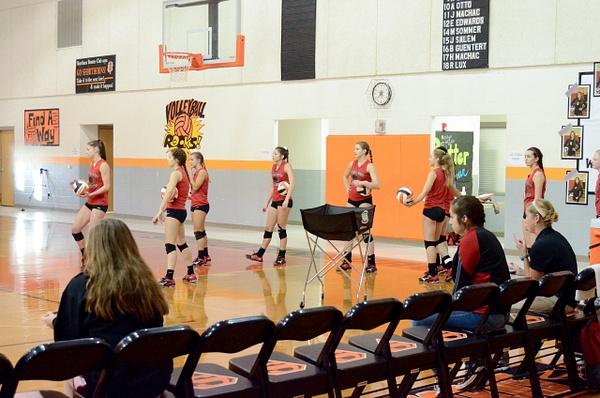 Warrior Volleybal Bi-District 11-01-16 by DennisRedding...