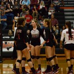 Warrior Volleyball vs Dripping Springs 11-02-17