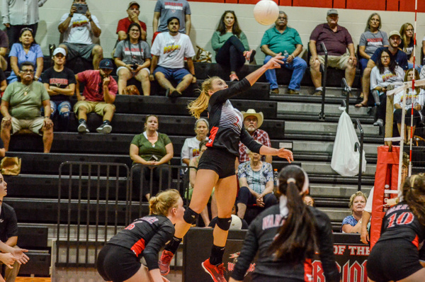 2018 Warrior Volleyball vs Carroll 08-21-18 by...