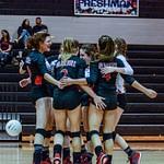 2018 Warrior Volleyball vs Calhoun 09-04-18