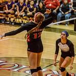 2018 Warrior Volleyball vs CC Miller 09-11-18