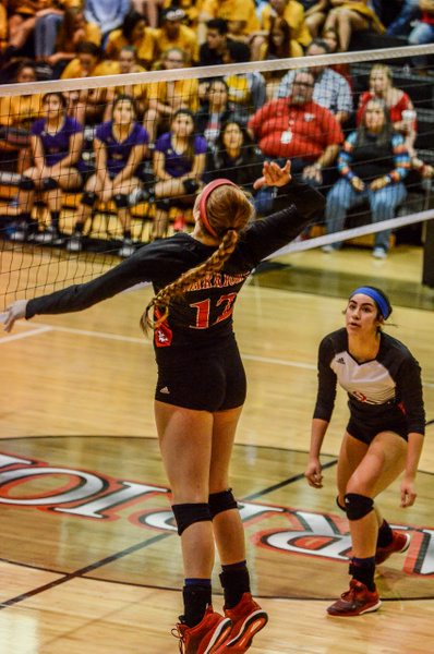 2018 Warrior Volleyball vs CC Miller 09-11-18 by...