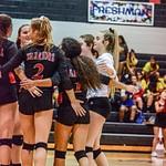 2018 Warrior Volleyball vs Moody 09-16-18