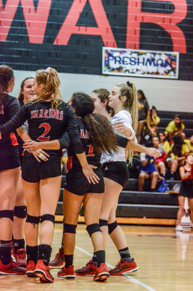 2018 Warrior Volleyball vs Moody 09-16-18 by...