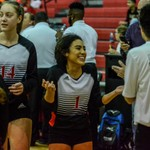 2018 Warrior Volleyball vs East 09-21-18