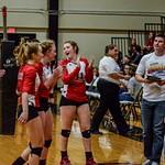 2018 Warrior Volleyball vs Calhoun 10-05-18
