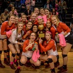 2018 Warrior Volleyball vs East 10-23-18