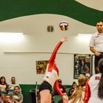 2018 Warrior Volleyball vs TM 10-30-18