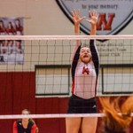 2019 Warrior Volleyball vs Calhoun 10-11-19