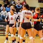 2019 Warrior Volleyball vs Moody 10-25-19
