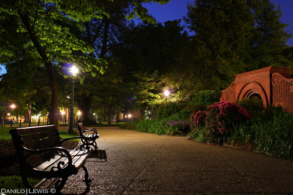 DC at Night by Danilo Lewis