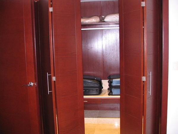 Large walk in closet by Aannabandana