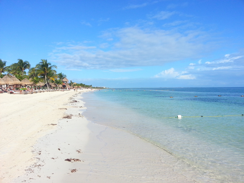 last morning to walk the beach