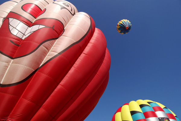 Hot Air Balloons by SpecialK