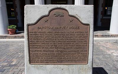Harvey House Barstow