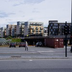 2013-06-19 Trondheim seafront and Clarion Hotel