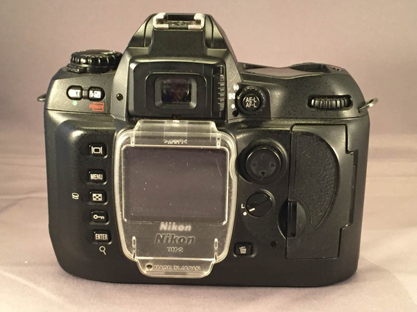 Nikon D100 Back by jimsimp3