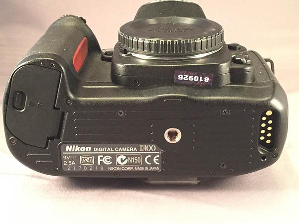 Nikon D100 Bottom by jimsimp3