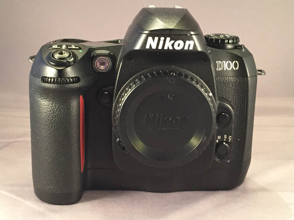 Nikon D100 Front by jimsimp3