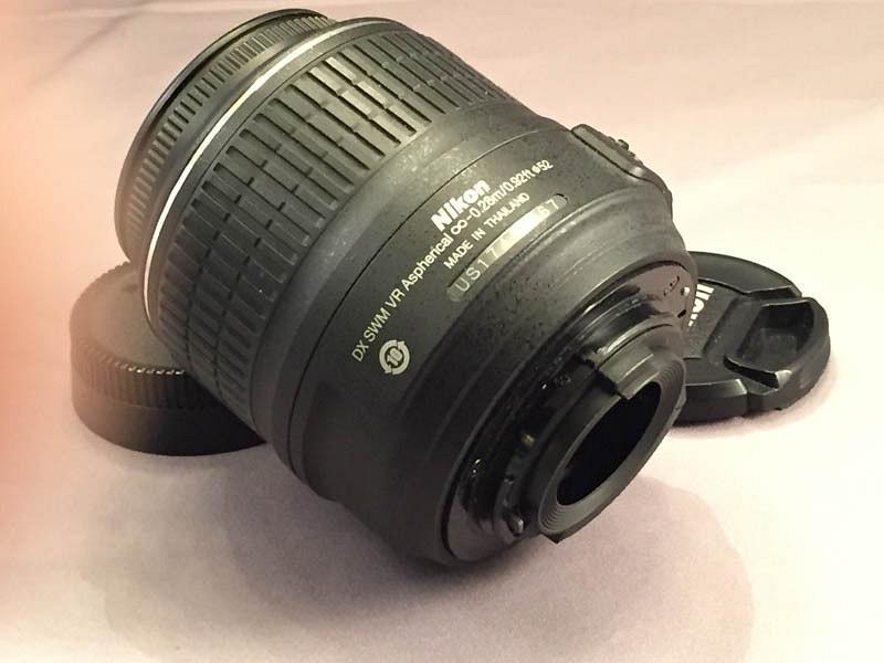 Nikon Lens Side