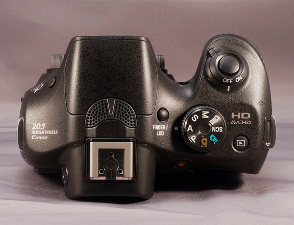 Sony A3000 Body top by jimsimp3