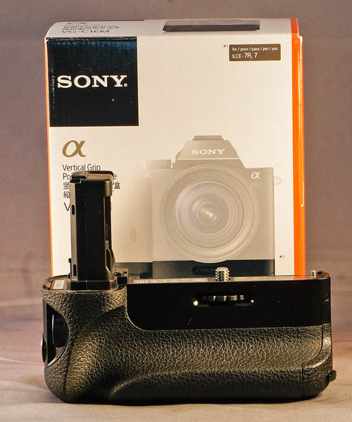Sony Vertical Grip by jimsimp3