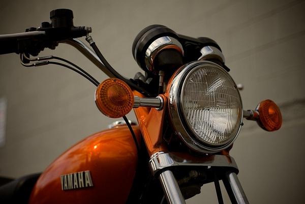 1973 Yamaha 750 by MattCrandall