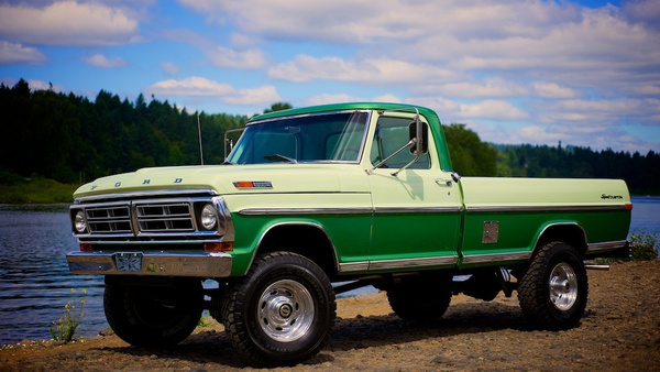 1971 Ford truck by MattCrandall