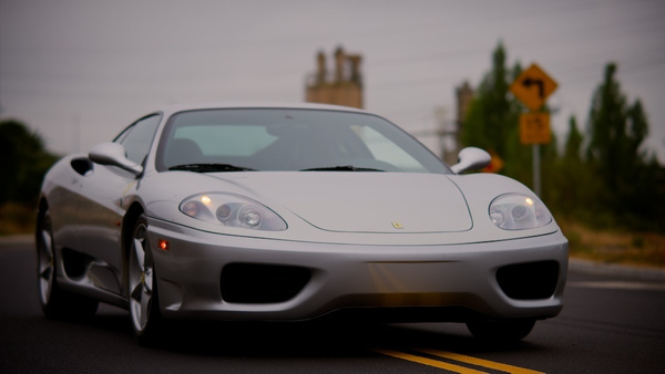 Ferrari 360 Modena Silver by MattCrandall