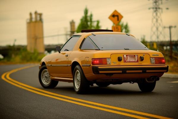 RX7  GoldFinger! by MattCrandall