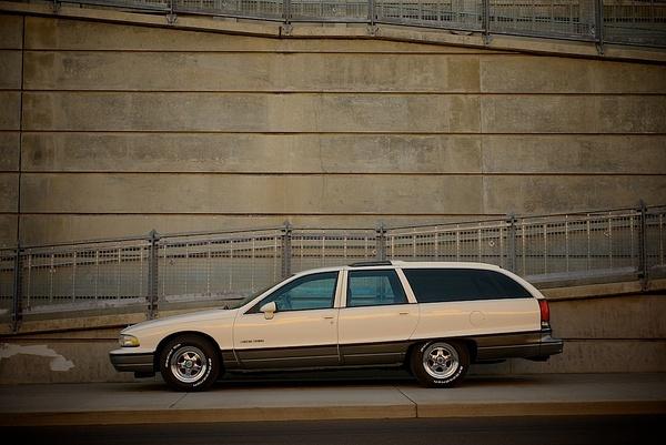 Olds custom wagon by MattCrandall