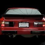 Porsche 944 red