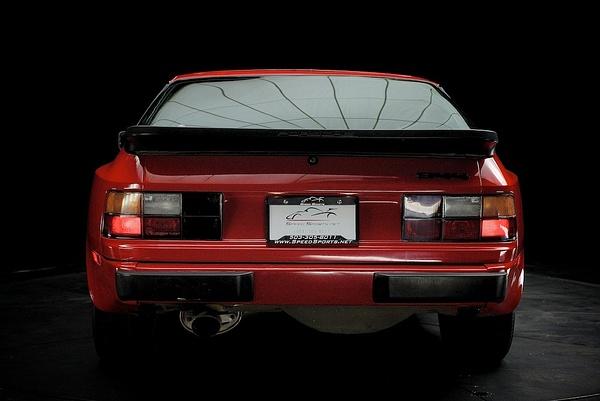 Porsche 944 red by MattCrandall