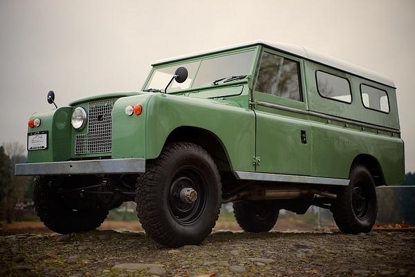 1970 Land Rover Series IIa by MattCrandall