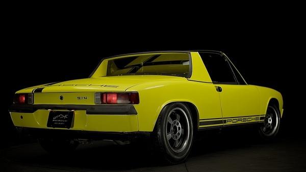 1972 Porsche 914 Yellow by MattCrandall