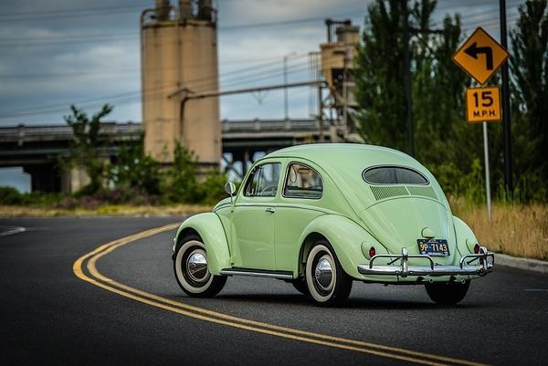 1956 Bug oval window by MattCrandall