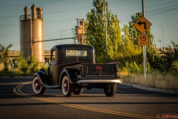 1935 Ford Pickup hot rod by MattCrandall