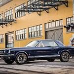1965 Blue Mustang Gt