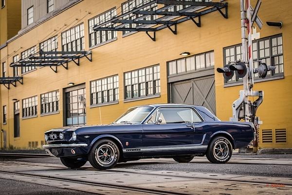 1965 Blue Mustang Gt by MattCrandall