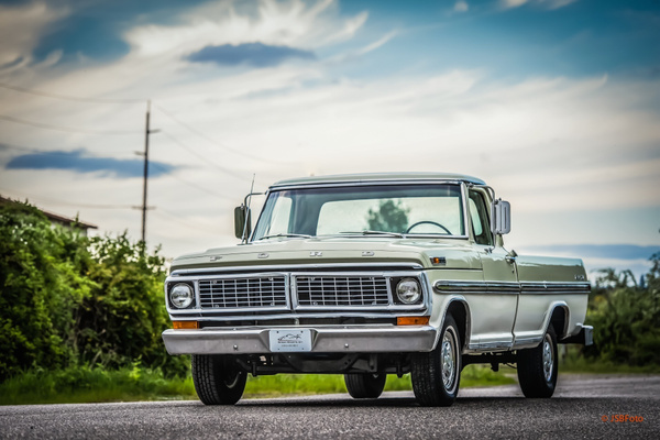 Classic Ford Truck by MattCrandall
